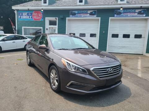 2017 Hyundai Elantra for sale at Bridge Auto Group Corp in Salem MA