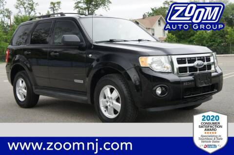 2008 Ford Escape for sale at Zoom Auto Group in Parsippany NJ