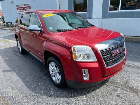 2013 GMC Terrain for sale at Huggins Auto Sales in Ottawa OH