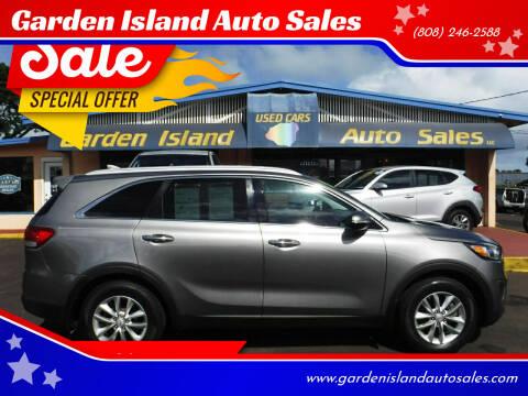 2016 Kia Sorento for sale at Garden Island Auto Sales in Lihue HI