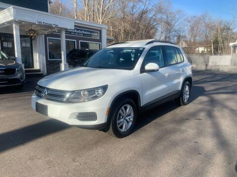 2017 Volkswagen Tiguan for sale at Ocean State Auto Sales in Johnston RI