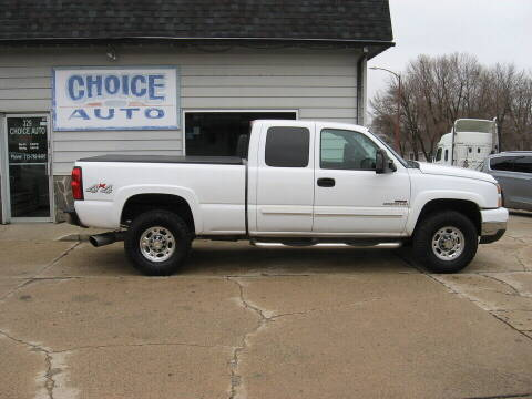 2005 Chevrolet Silverado 2500HD for sale at Choice Auto in Carroll IA