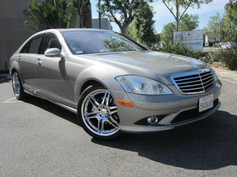 2007 Mercedes-Benz S-Class for sale at ORANGE COUNTY AUTO WHOLESALE in Irvine CA