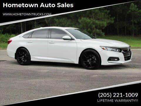 2018 Honda Accord for sale at Hometown Auto Sales - Cars in Jasper AL