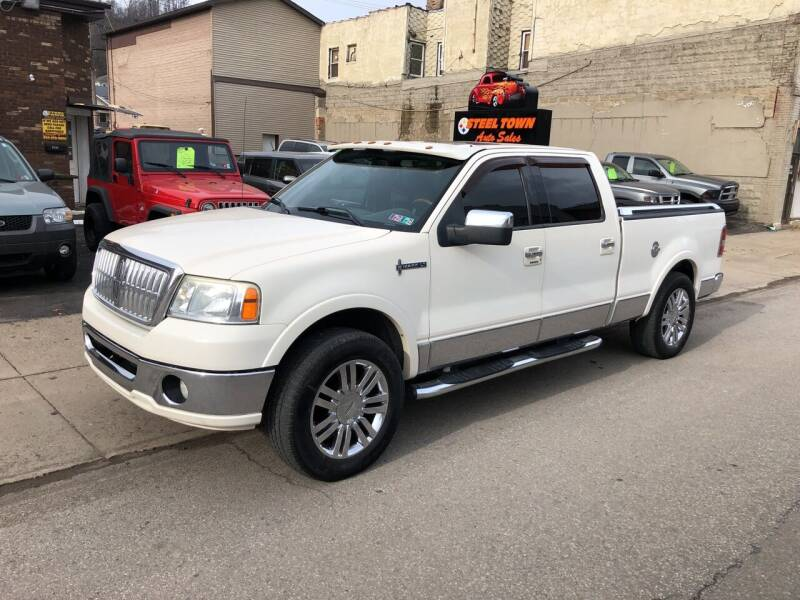 2008 Lincoln Mark LT for sale at STEEL TOWN PRE OWNED AUTO SALES in Weirton WV