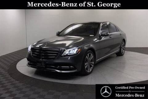 2018 Mercedes-Benz S-Class for sale at Stephen Wade Pre-Owned Supercenter in Saint George UT