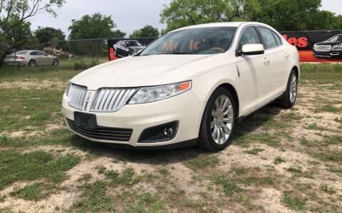 2009 Lincoln MKS for sale at Merlo's Auto Sales LLC in San Antonio TX