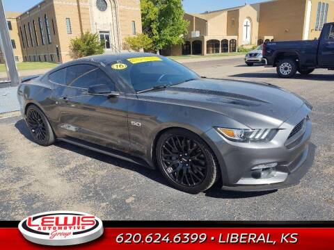 2016 Ford Mustang for sale at Lewis Chevrolet Buick of Liberal in Liberal KS