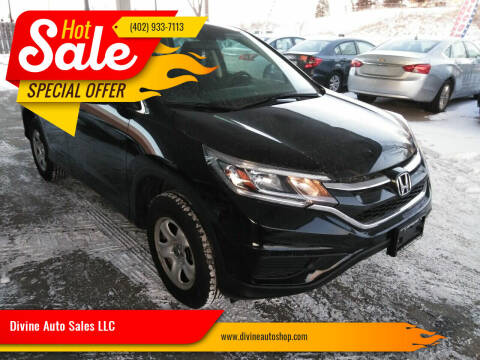 2016 Honda CR-V for sale at Divine Auto Sales LLC in Omaha NE