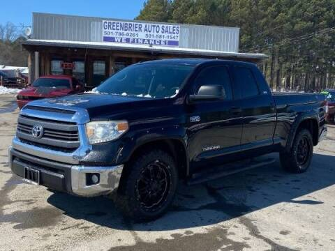 2014 Toyota Tundra for sale at Greenbrier Auto Sales in Greenbrier AR
