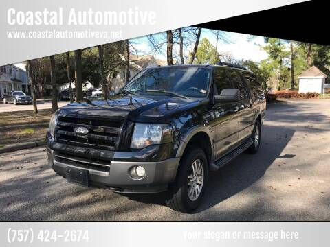 2011 Ford Expedition EL for sale at Coastal Automotive in Virginia Beach VA