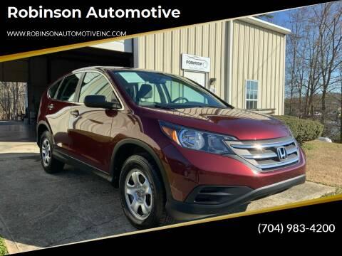 2014 Honda CR-V for sale at Robinson Automotive in Albemarle NC