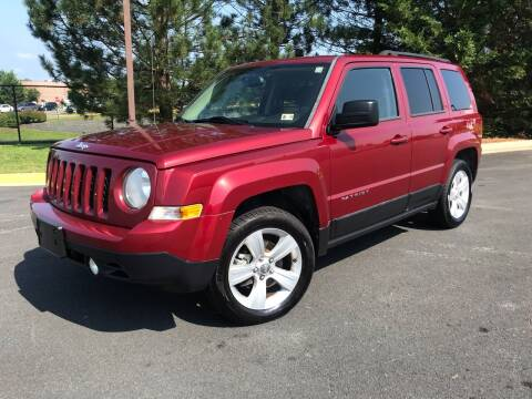 2014 Jeep Patriot for sale at Aren Auto Group in Sterling VA