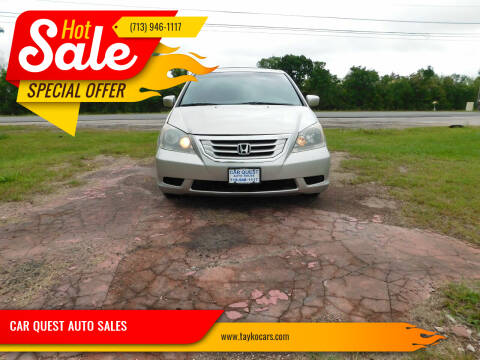 2008 Honda Odyssey for sale at CAR QUEST AUTO SALES in Houston TX
