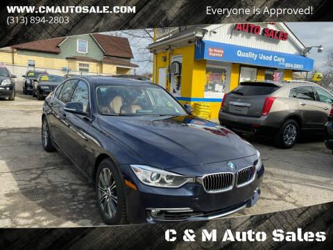 2013 BMW 3 Series for sale at C & M Auto Sales in Detroit MI