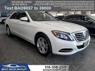 2017 Mercedes-Benz S-Class for sale at Best Auto Outlet in Floral Park NY