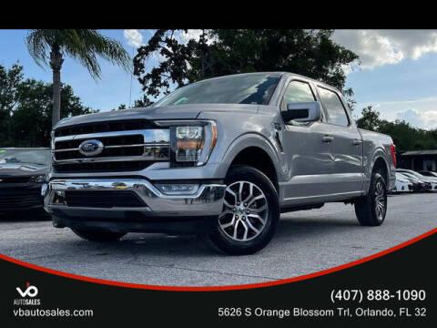 2021 Ford F-150 for sale at V & B Auto Sales in Orlando FL