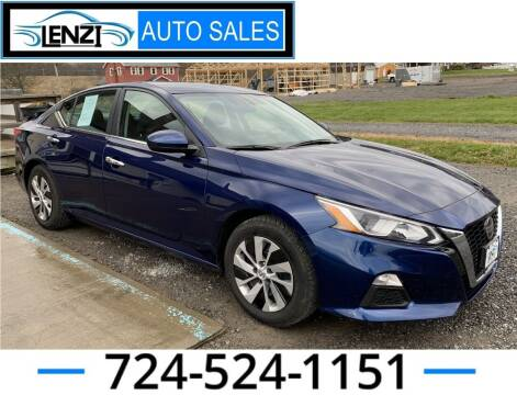 2019 Nissan Altima for sale at LENZI AUTO SALES in Sarver PA