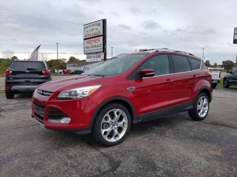 2013 Ford Escape for sale at Premier Auto Sales Inc. in Big Rapids MI