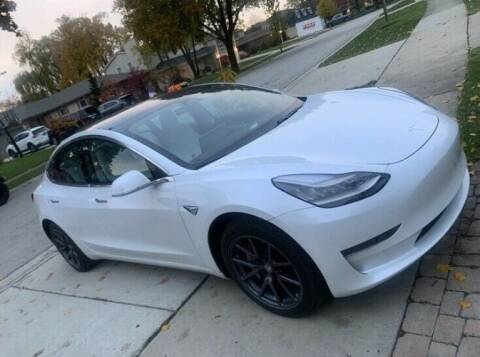 2019 Tesla 3 for sale at Classic Car Deals in Cadillac MI
