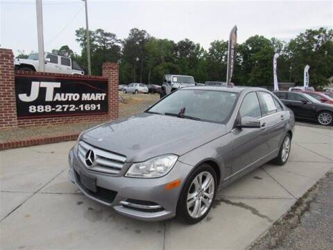 2013 Mercedes-Benz C-Class for sale at J T Auto Group in Sanford NC