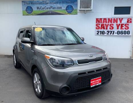 2015 Kia Soul for sale at Manny G Motors in San Antonio TX
