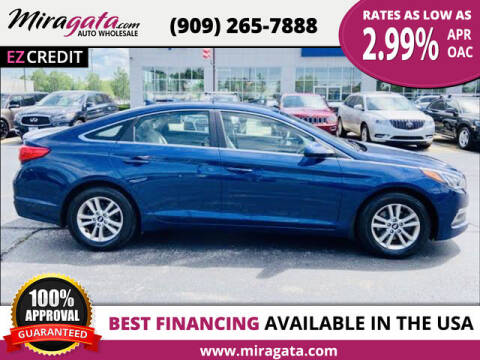 2015 Hyundai Sonata for sale at Miragata Auto in Bloomington CA