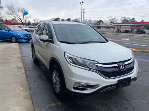 2016 Honda CR-V for sale at City to City Auto Sales in Richmond VA