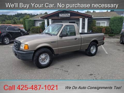 2005 Ford Ranger for sale at Platinum Autos in Woodinville WA