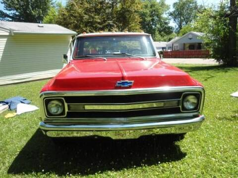 1969 Chevrolet C/K 20 Series for sale at Classic Car Deals in Cadillac MI