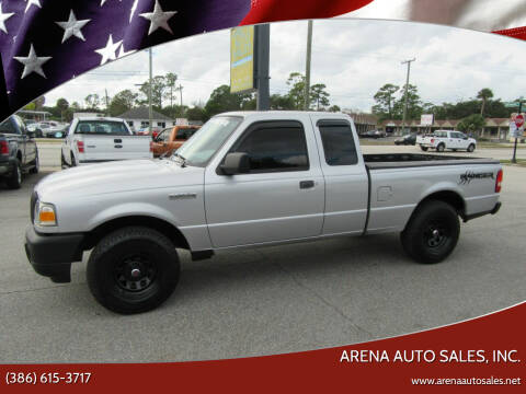 2009 Ford Ranger for sale at ARENA AUTO SALES,  INC. in Holly Hill FL