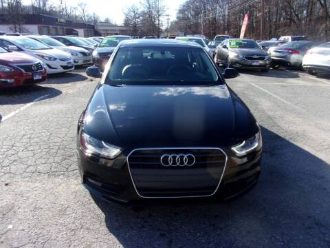 2013 Audi A4 for sale at Balic Autos Inc in Lanham MD