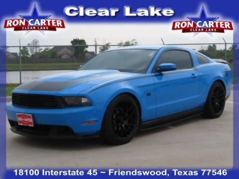 2010 Ford Mustang for sale at Ron Carter  Clear Lake Used Cars in Houston TX