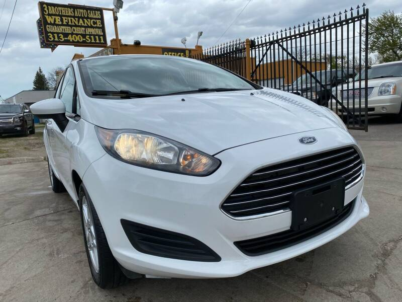 2017 Ford Fiesta for sale at 3 Brothers Auto Sales Inc in Detroit MI