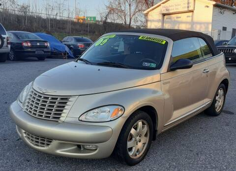 2005 Chrysler PT Cruiser for sale at Bik's Auto Sales in Camp Hill PA