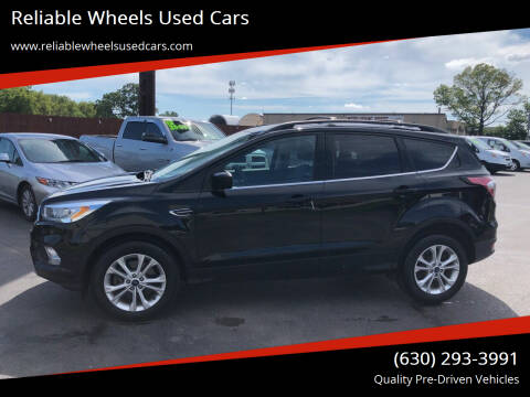 2017 Ford Escape for sale at Reliable Wheels Used Cars in West Chicago IL