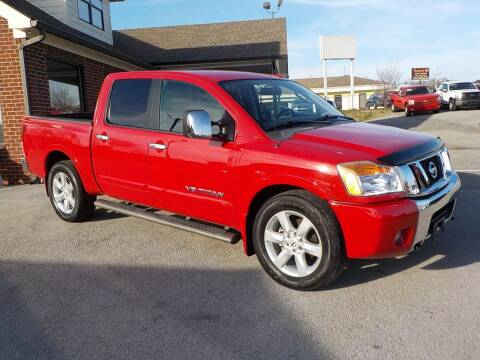 2011 Nissan Titan for sale at C & C MOTORS in Chattanooga TN