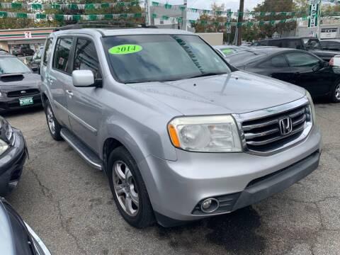 2014 Honda Pilot for sale at Park Avenue Auto Lot Inc in Linden NJ