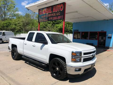 2015 Chevrolet Silverado 1500 for sale at Global Auto Sales and Service in Nashville TN
