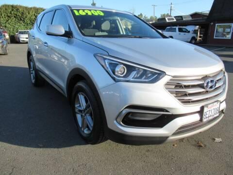 2017 Hyundai Santa Fe Sport for sale at Tonys Toys and Trucks in Santa Rosa CA