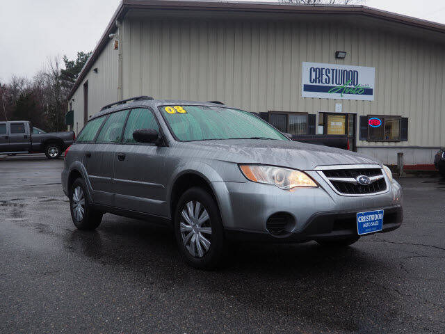 2008 Subaru Outback for sale at Crestwood Auto Sales in Swansea MA