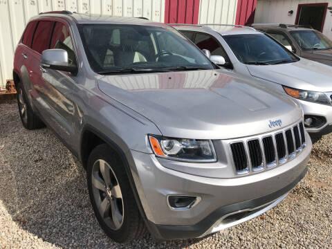 2014 Jeep Grand Cherokee for sale at Bay City Auto's in Mobile AL