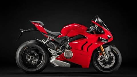 2021 Ducati Panigale V4 S for sale at Peninsula Motor Vehicle Group in Oakville Ontario NY
