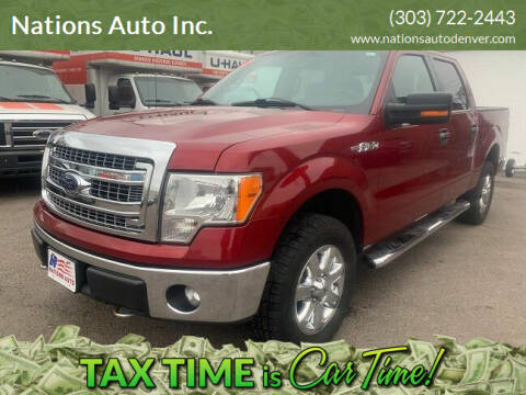 2014 Ford F-150 for sale at Nations Auto Inc. in Denver CO