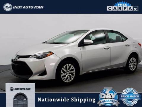 2017 Toyota Corolla for sale at INDY AUTO MAN in Indianapolis IN