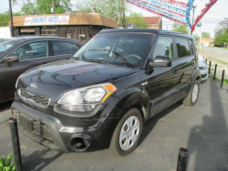 2013 Kia Soul for sale at EZ Finance Auto in Calumet City IL