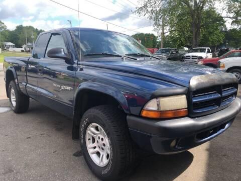 2002 Dodge Dakota for sale at Creekside Automotive in Lexington NC