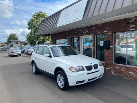2006 BMW X3 for sale at M&M Auto Sales in Portland OR