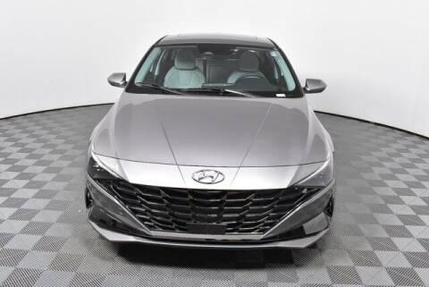 2021 Hyundai Elantra Hybrid for sale at Southern Auto Solutions-Jim Ellis Hyundai in Marietta GA