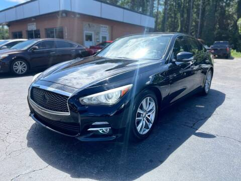 2014 Infiniti Q50 for sale at Magic Motors Inc. in Snellville GA